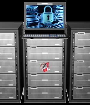 Virtual dedicated server web hosting service