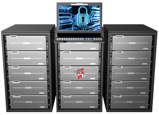 Virtual dedicated server web hosting service